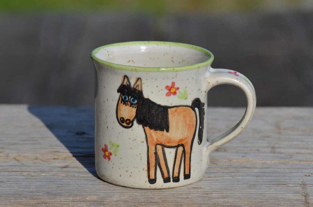 Tasse Pferd
